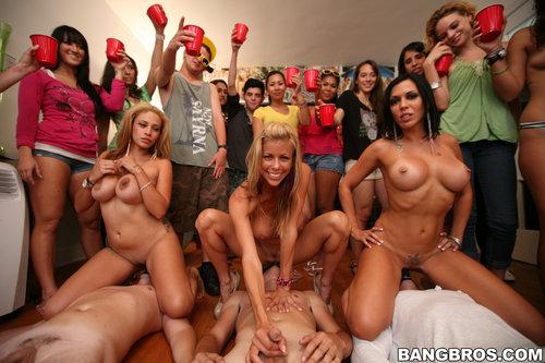 College party with Pornstars - HD Porn